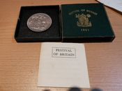 George VI, Crown 1951 (Festival of Britain) Boxed, AUNC, PS4758